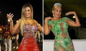Ex Modelos abandonan Carnaval de Río